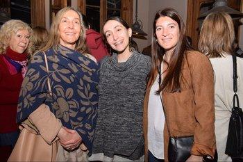 Claudia Ceroni, Maria José Gonzlaéz y Virginia Paternostro
