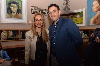 Laura Moras y Santiago Silva