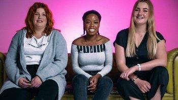 Sadie, Rebekah y Bex sufren endometriosis. En los tres casos los médicos demoraron años en llegar a un diagnóstico.
