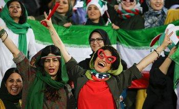 La mujeres volvieron al fútbol en Irán
