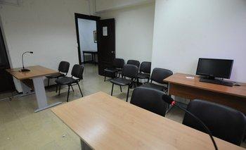 Sala de audiencia de nuevos juzgados penales
