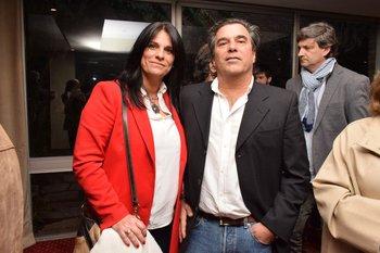 Jimena Olavarria y Miguel Corti