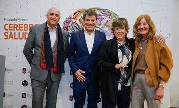 Jorge Gerez, Facundo Manes, Marta Penades y Socorro Reyes