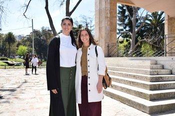 Lucia Cabanas y Lucia Gutierrez