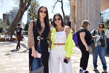 Miska Gargano y Belén Chijane