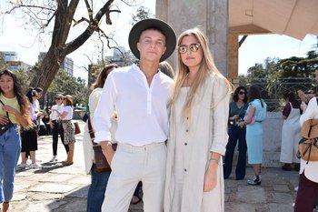 Santiago Colinet y Valentina Heslop