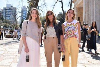 Consi Nicola, Geraldine Lewi y Florencia Alzaga