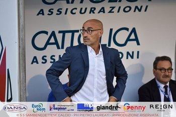Paolo Montero, entrenador de Sambenedettese