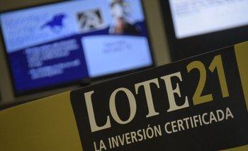 Lote 21 rematará, como es clásico, junto al Scotiabank.