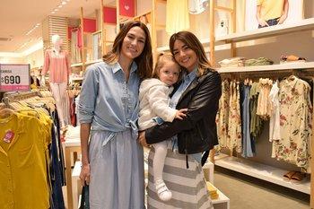 Steffi Rauhut, Justina Behrens y Valentina Fernández