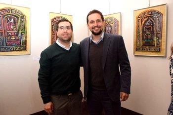 Jesus Rey y Alexander Iurramendi