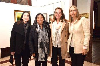 Patricia Barreiro, Caris Tasitro, Marianne Eichin y Adriana Bremermann