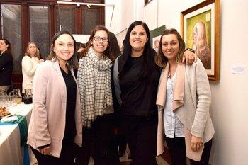 Paula Morales, Valentina Huelmo, Viviana montano y Patricia Alzugaray