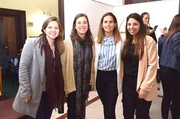 Yanina bentancor, Agustina Silva, Noelia Silveira y Lorena Cejas