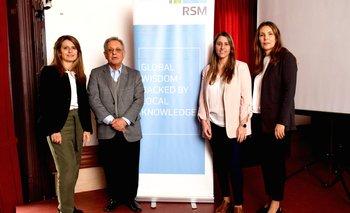 Ana Inés Montaldo, Jorge Gutfraind, Claudia Piano y Gabriela Montaldo