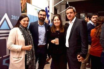 Camila González, Roberto Cleremont, Soledad Pasini y Andrés Saldaña