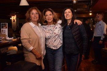 Daniella Crosta, Elida Biderman y Patricia Jimenez de Arechaga