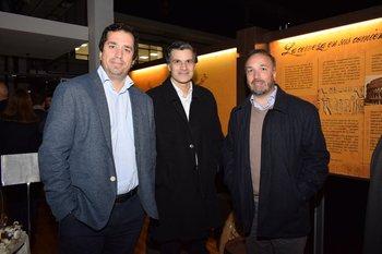Dario Fontan, Alejandro Cavallo y Adrian Fontan