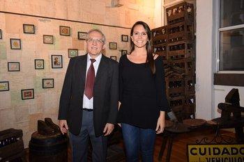 Horacio Morero y Daniella Chocho