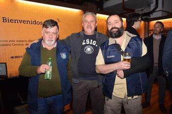 Victor Soca, Bucky Delgado y Javier Saavedra