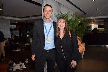 Diego Guella y Gabriela Baccino