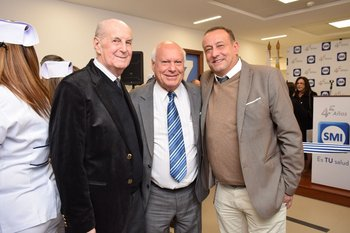 José Luis Zales, Bartolome Grillo y Tony Russomando