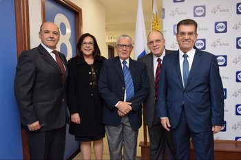 Fernando Paroli , Rosario Perez, Roberto Lopez, Carlos Gonzalez Trias, Raul Besenzoni