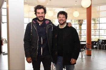 Franco Pérez y Federico Irrazabal