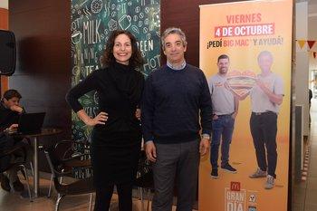 Paula Spasandin y Ricardo Mendez