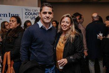Diego Antuña y Andrea Lopez