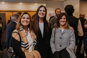Fernanda Duter, Rossina Odizzio y Rossana Barragan