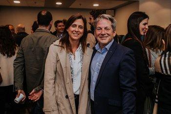 Samy Borensztejn y Karina Vivone