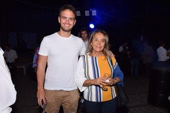 Tomas Rodríguez y Elena Vignoli