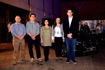 Victor Occhiuzzi, Luis Pascual, Sirley Texeira, Carla Giuliano y Martín Oyarzún