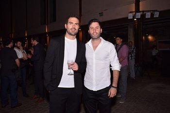 Anibal Zeballos y Andres Acosta