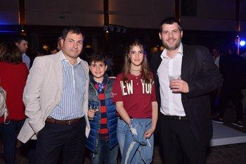 Carlos Lopez, Sanitago y Agustina Lopez y Santiago Da Silveira