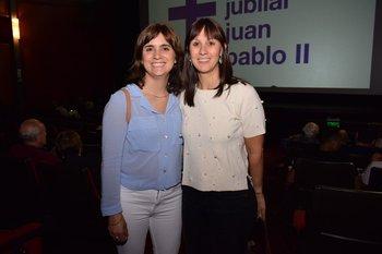 Sofia Presno y Valérie Caubarrère