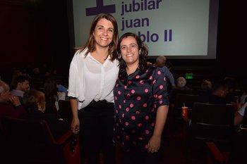 Mónica Martínez y María José Villar