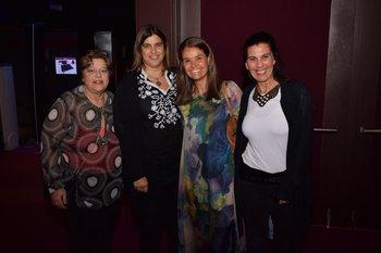 Silvia Rossani, Mariano Pomies, Magdalena Raineri y Natalia Guerra