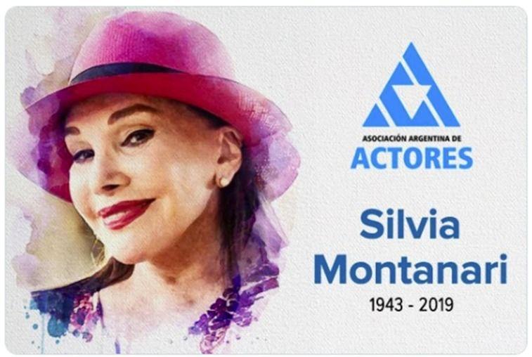 Falleció la actriz Silvia Montanari a los 76 años