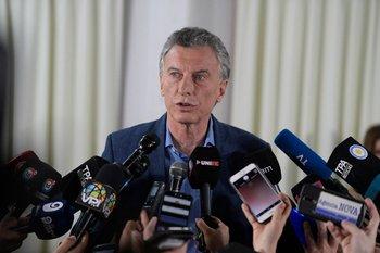 Mauricio Macri dijo que él mismo se siente un perseguido político en Argentina