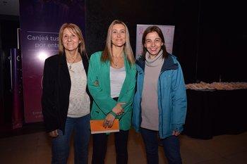Guadalupe Fandiño, Verónica Fachola y Gabriela García