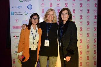 Jacqueline Rivero, Cristina Berenbau y Cecilia Torrendel
