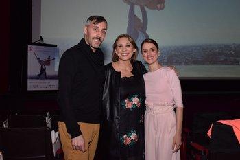 Martin Inthamoussú, Carolina De León y Maria Noel Riccetto