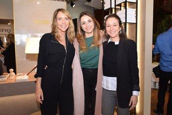Gabriela Acher, Yael Weitz e Ivette San Martin