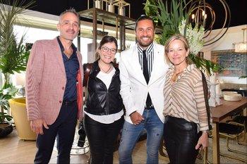 Javier Mitnik, Virginia Zabaleta, Juan Martin Niveyro y Rose Galfione