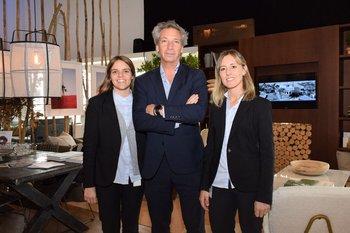 Joaquina Mengot, Pablo Fernández y Victoria Ferreiro