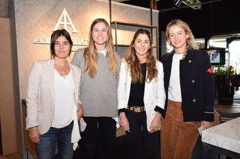 María José Arcos, Martina Abbate, Belen Arcos y Alejandra Cardozo