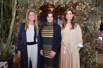 Renata Battione, Carina Martinez y Ximena Arcos Pérez