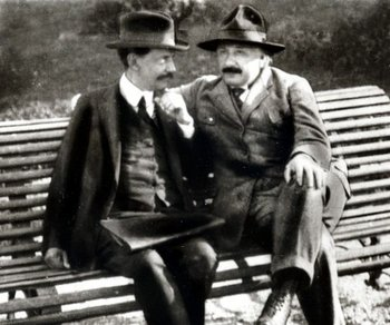 Encuentro de Einstein con Vaz Ferreira